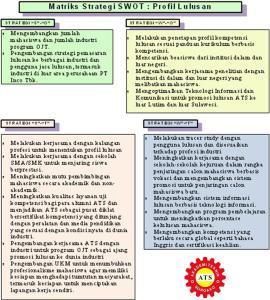 15Strategi SWOT-Kompetensi Lulusan-ATS_DA