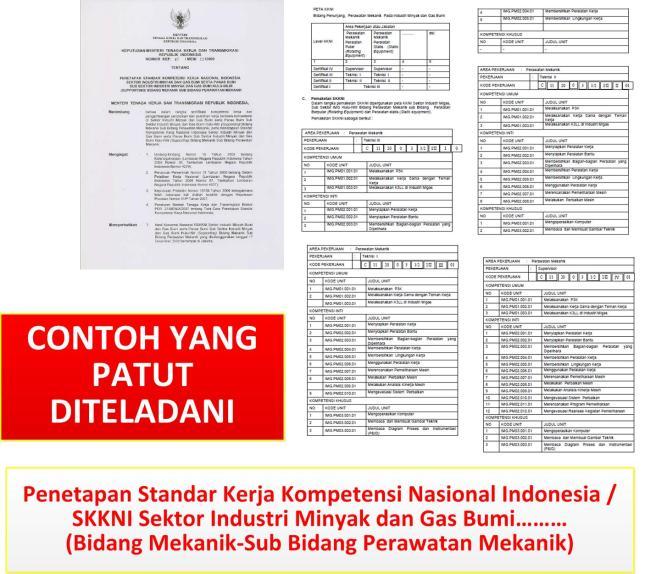 Gambar-18_Contoh implementasi SKKNI sector Migas untuk bidang perawatan mekanik